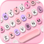 Pink Candy Color Keyboard Background